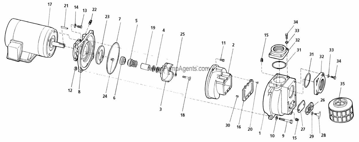 Parts For Amt Pump Model   399a