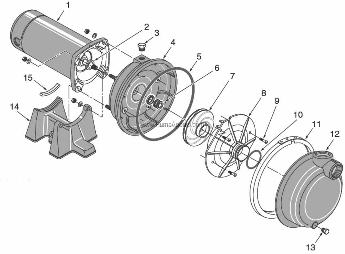 Parts For Flotec Pump Model Fp5172 08
