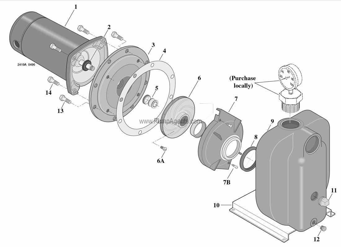 parts for flotec pump model fp5242 00 flotec fp4112 08 flotec fp4112 8 8