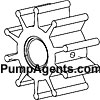 Jabsco Pump Part # 18673-0001 - Neoprene Impeller