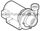 Jacuzzi Pump model # 2DB1-1/2-S - Cast Iron Centrifugal Pump