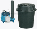 Drainosaur Water Removal System - WRS-6