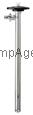 "Lutz Catalog # 0151-001-TRI - 39"" Stainless Steel Drum Pump Tube"