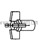 March Pump Part # 0115-0008-0100 - Impeller