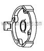 March Pump Part # 0115-0016-1000 - Cover