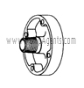 March Pump Part # 0115-0058-1000 - Cover
