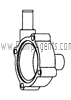 March Pump Part # 0115-0074-1000 - Rear Housing