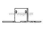 March Pump Part # 0115-0081-1000 - Mounting Base
