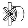 March Pump Part # 0125-0055-0100 - Impeller