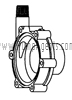 March Pump Part # 0125-0058-1000 - Rear Housing