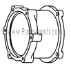 March Pump Part # 0125-0069-1000 - Motor Bracket