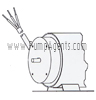 March Pump Part # 0130-0022-1000 - Motor