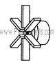 March Pump Part # 0135-0026-0100 - Impeller
