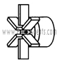 March Pump Part # 0135-0043-0100 - Impeller