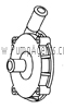 March Pump Part # 0135-0117-1000 - Rear Housing