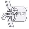 March Pump Part # 0150-0030-0700 - Impeller
