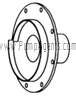 March Pump Part # 0151-0003-0000 - Rear Housing