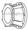 March Pump Part # 0151-0041-0100 - Motor Bracket