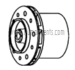 March Pump Part # 0153-0003-0500 - Impeller