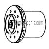 March Pump Part # 0155-0159-0400 - Impeller