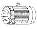 March Pump Part # 0157-0012-1000 - Motor