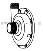 March Pump Part # 0157-0030-0000 - Rear Housing