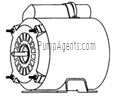 March Pump Part # 0175-0087-1000 - Motor