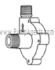 March Pump Part # 0809-0142-0000 - Rear Housing
