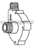 March Pump Part # 0809-0179-0100 - Rear Housing