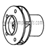 March Pump Part # 0821-0023-0200 - Impeller