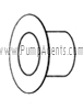 March Pump Part # 0821-0035-0100 - Rear Housing