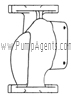 March Pump Part # 0821-0064-0000 - Rear Housing