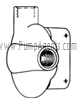 March Pump Part # 0821-0080-0000 - Rear Housing
