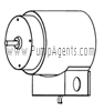 March Pump Part # 0821-0084-1000 - Motor