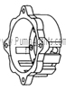 March Pump Part # 0821-0104-1000 - Motor Bracket