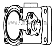 March Pump Part # 0893-0002-1000 - Motor Bracket