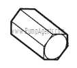 Oberdorfer Pump Part # 5239 - Nut for Relief Valve