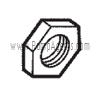Oberdorfer Pump Part # 5240 - Locknut for Relief Valve