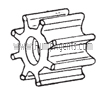 Oberdorfer Pump Part # 7466 - Impeller