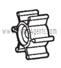 Oberdorfer Pump Part # 7885 - Impeller
