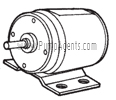 Oberdorfer Pump Part # 8108 - Motor 12 VDC