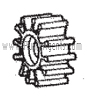 Oberdorfer Pump Part # 8647 - Impeller