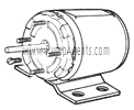 Oberdorfer Pump Part # 9950 - Motor 12 VDC