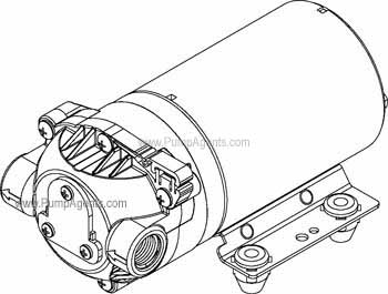 Shurflo Pump 8006-142-220
