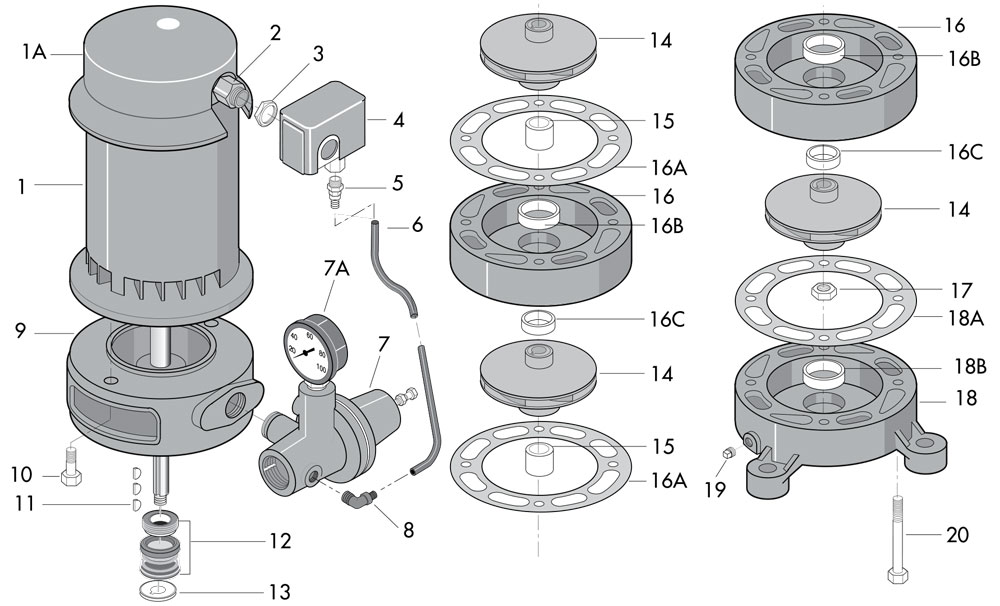 sta rite motor parts